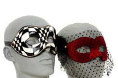 Venetian ball masks