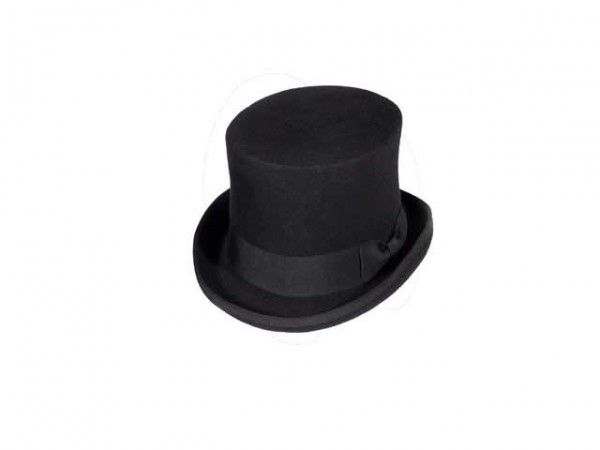 Black Steampunk top hat, large - 59 cm