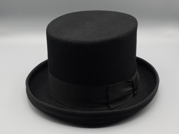Black Steampunk top hat, large - 59 cm