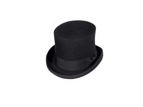 fe5805b8bc4f93 Black Steampunk top hat, small - 56 cm