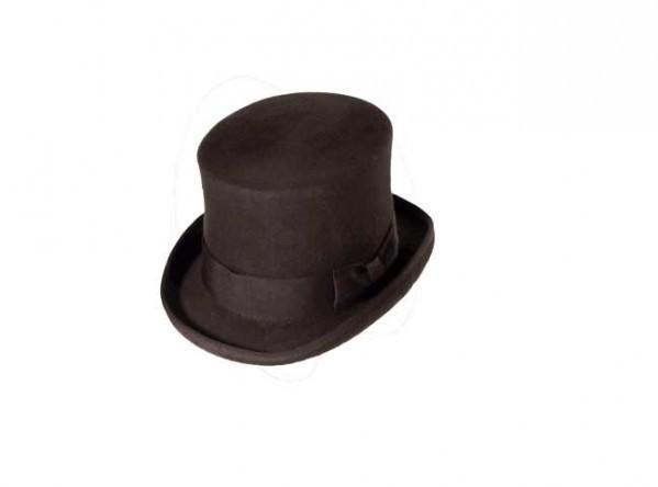 Brown Steampunk top hat, large - 59 cm