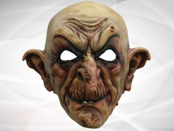 "Creepy mask ""The Wizard"""