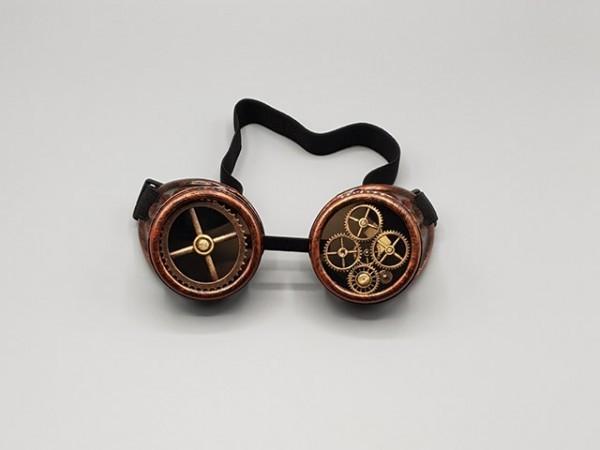 Steampunk goggle copper industrial