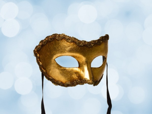 Gold Party Mask