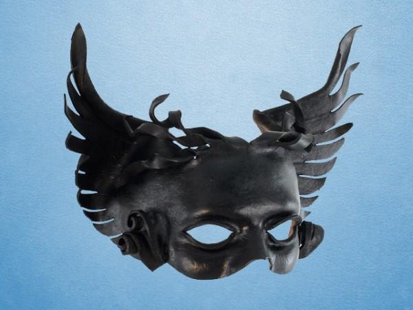 Leather mask of Thanatos