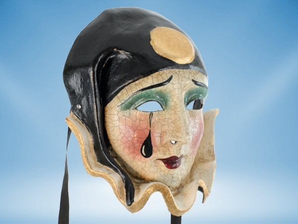 Luxurious Pierrot mask