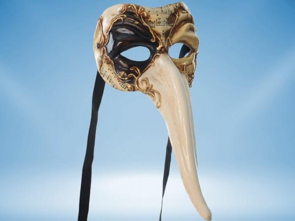 Mardi Gras mask Il Capitano