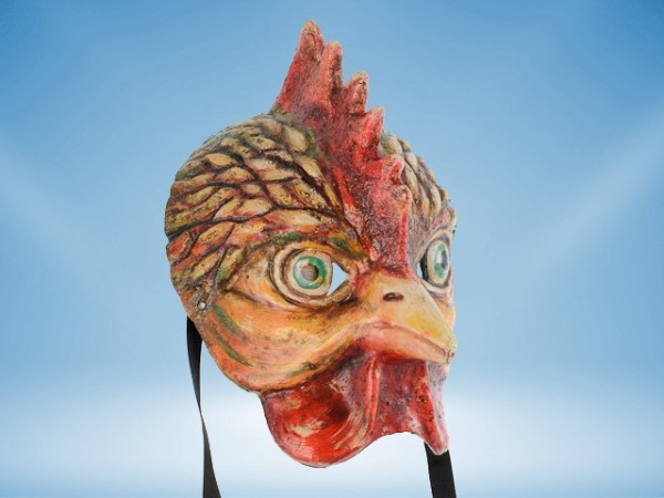 Mask of a Rooster