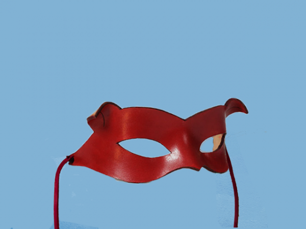 Red Leather mask, Catwoman