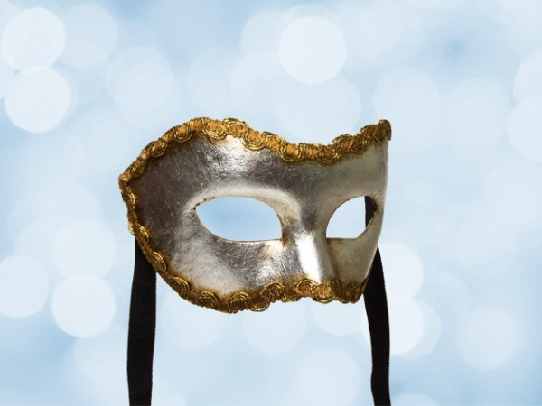 Silver Party Mask