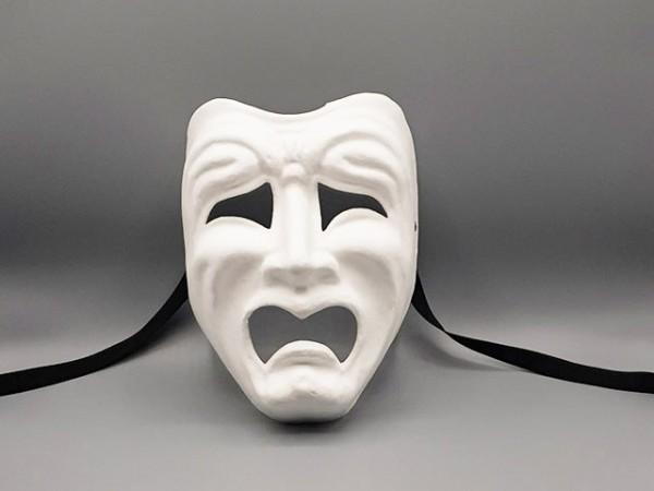 4 Theatre Emotion Paper Mache MasksMasks to Decorate